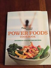 Weight Watchers book POWER FOODS COOKBOOK Points Plus food guide recipes EUC