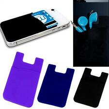 Universal Case  Holder Card Pouch Adhesive Back  Sticker Cover for Cell Phone