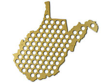 Beer Cap Traps West Virginia Bottle Beer Soda Pop Wood Cap Caps Organizer