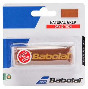 Babolat Natural Leather Replacement Grip - Brown - Free P&P
