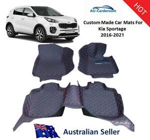 Kia Sportage 2015-2021 Full Surrounded Premium Custom Made Car Floor Mats/Carpet