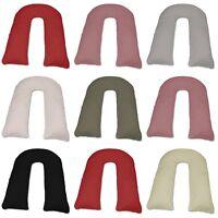 BiG U Shape 12 Ft Full Body Maternity Pregnancy Comfort Soft New U Pillow Cases