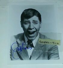 Jerry Lewis Signed Autograph COA The Nutty Professor