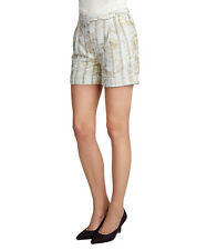 NWT $169 Tudor Westwood Red Label Laminated Lace Shorts [ SZ 38 IT ] #2375