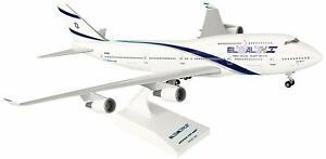Daron Skymarks El Al 747-400 1/200 W/Gear Model Aircraft