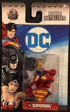 DC Nano MetalFigs Supergirl Figure DC8 New 2017 Jada Toys