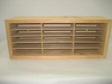 Vintage Napa Valley Company Wooden Storage Box CD DVD Display Case