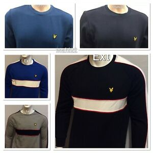 BRAND NEW LYLE AND SCOTT LONG SLEEVE SWEAT SHIRT FOR MEN