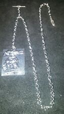 The Expendables Collectable Silver Pocket Watch Chain