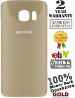 Replacement For Samsung Galaxy S6 G920 Battery Back Door Cover Glass GOLD