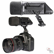 RODE STEREO Video Mic Camera Mounted Microphone w/ BOX Canon 7D 5D T2i T3i Nikon