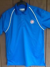 MLB Chicago Cubs Polo Shirt Cubs Golf Shirt Large