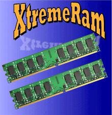 4GB DDR2 PC2-5300 667Mhz LOW DENSITY Desktop Memory 2x 2GB RAM PC2-667 240-Pins
