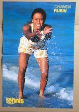 Chanda Rubin Original Vintage revista de tenis australiana Cartel