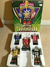 Power Rangers - Deluxe Shogun Megazord w/ box - BAN DAI 2490 - 1995- COOL!