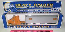 K-Line 8022 New York Central heavy hauler tractor trailer