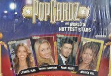 POPCARDZ THE WORLDS HOTTEST STARS SEASON 1 SEALED BOX