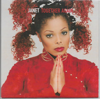 JANET JACKSON - Together Again - Promo CD - Virgin - VSCDJ 1670 - 1997 - UK