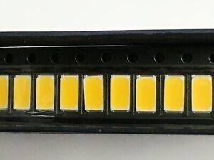 10pcs SMD/SMT 5730 White LED 3000K-3500K 5.7mm x 3mm
