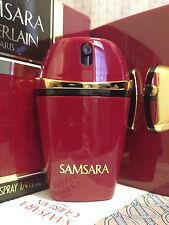 Vintage 1992 Samsara Guerlain FULL 1/4 oz 7.5 ml Pure Parfum Spray - OLD FORMULA