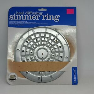 SIMMER RING..HEAT DIFFUSING....HEATS EVENLY PERFECT FOR SIMMERING....