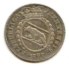 Suisse Canton de Berne 1/4 Thaler 1797 Petite date KM 160