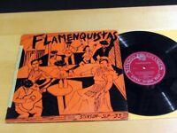 """10""""LP FLAMENQUISTAS Flamenquistas STINSON SLP-33 VG+"""
