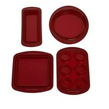 Wolfgang Puck 4-piece Silicone Collapsible Bakeware Set Model 679-961