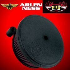 Arlen Ness Stage 2 Big Sucker Air Filter Kit Black 99-17 Harley Twin Cam 18-820