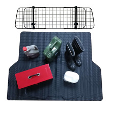 WaterProof Rubber Boot Liner Mat + Dog Barrier Guard Toyota