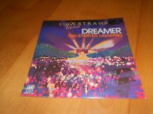 """Supertramp """"Dreamer"""" 7`` Single (Live in Paris) 1980"""