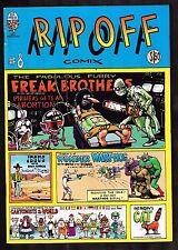 Rip-Off Comix #8 ~ Rip Off Press ~ Underground Comic ~~ 1980 (6.0) WH