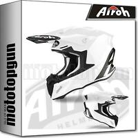 AIROH TW214 INTEGRALHELME OFF-ROAD MOTORRAD WEISS GLOSS TWIST 2.0 COLOR XXL