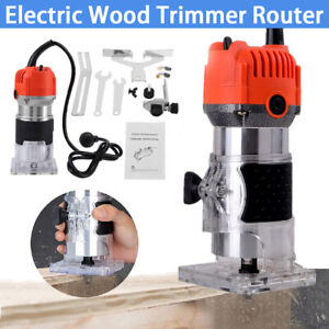 Electric 800W Wood Trimmer Machine Power Router for Wood Cutting Trimming 220V
