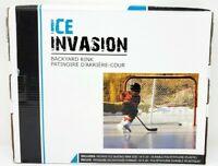 Ice Invasion Backyard Rink Easy setup 10 Feet By 20 Feet!