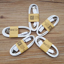 5pcs Micro Fast Charger Rapid usb cable For Samsung S7/6 edge+ Note 5/4 S4/3 HTC