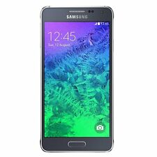 Good - Samsung Galaxy Alpha G850A 32GB Black AT&T GSM Unlocked T-Mobile Android