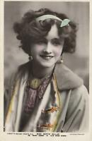 VINTAGE MISS GERTIE MILLAR in Our Miss Gibbs ROTARY Photo Series POSTCARD - USED