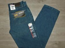 LEE Relaxed Fit Jeans Straight Leg Relaxed Seat & Thigh Newman Blue Choose Size