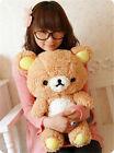 Stuffed Kawaii Gift San-x Rilakkuma Relax Bear Pillow Plush cute Toy Doll 50cm