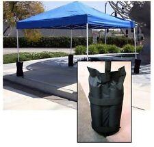 4 X Gazebo Foot Leg Pole Sandbag Anchor Weights Marquee Market Stall Sand Bags