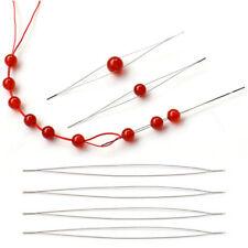 125mEasy threading beading needle jewellery cord elastic Jewelry Beading Needles