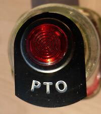 Land Rover Series 2 2a 3 LED Illuminated PTO Power Take Warning Tag Light Chrome