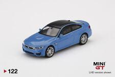Mini GT BMW M4 (F82) Yas Marina Blue Metallic MGT00122 1/64