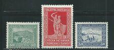 Yugoslavia Scott # B20-B22 MH Semi Postal