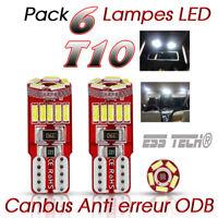 Ampoule T10 led canbus interieur anti erreur OBD2 Bmw Audi Golf Polo Mercedes
