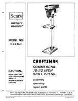 drill press operating instructions