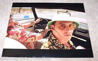JOHNNY DEPP SIGNED FEAR AND LOATHING IN LAS VEGAS 11X14 PHOTO A W/COA RAOUL DUKE