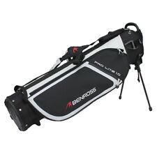 Benross Prolite 1.0 Sunday Golf Ultra Lightweight Mini Stand Bag Black or White