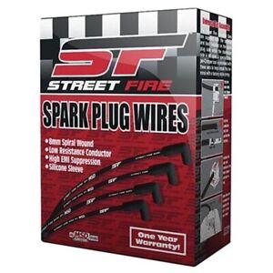 MSD 5543 Street-Fire Spark Plug Wires Set, Ford 289-302 Socket